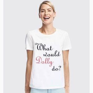 Draper James What Would Dolly Do? Tee shirt